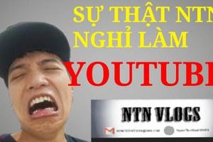 Cộng đồng mạng phản ứng trước tin NTN nghỉ Youtube: