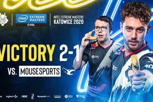 G2 eSports tấu hài vẫn thắng, player số 1 thế giới chính thức chia tay CS:GO IEM Katowice 2020