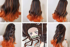 Ngắm loạt cảnh cosplay màu tóc