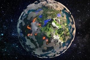 Đã có thể xây dựng bản đồ Trái Đất tỷ lệ 1:1 trong Minecraft, mời anh em tham gia