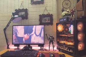 Ở nhà tránh dịch, game thủ Việt thi nhau lên mạng khoe góc chơi game đẹp mê ly