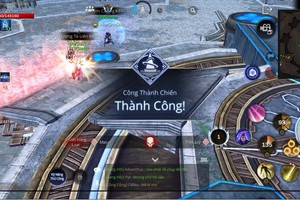 Trải nghiệm trận Công Thành Chiến đầu tiên của AxE: Alliance X Empire Việt Nam