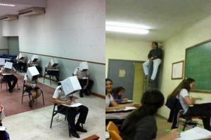 Quý gối trước những cách phòng chống gian lận thi cử cao tay của các thầy cô