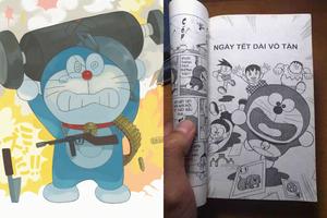 Dân mạng trách cứ Doraemon: