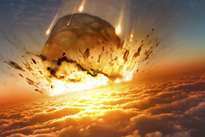 Thiên thạch có sức công phá ngang 10 tỷ quả bom nguyên tử lao vào Trái Đất ở góc 'siêu hiểm', xóa sổ hoàn toàn khủng long