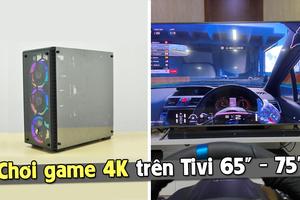 Đã đến lúc chơi game trên TIVI GAMING 65-75 inch, độ phân giải 4K?