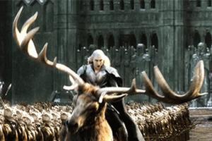 Thú cưỡi của Thranduil trong The Hobbit là hoàn toàn có thật?
