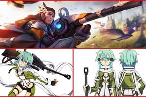 Liên Quân Mobile: Không chỉ Allain và Butterfly, Elsu cũng là tướng sở hữu skin Sword Art Online?