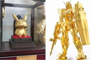 Xuất hiện phiên bản Pikachu và Gundam bằng vàng ròng nguyên chất, giá bán gây sốc khiến cộng đồng mạng ngỡ ngàng