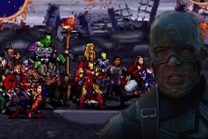 Mời bạn xem trận chiến cuối cùng trong Avengers: Endgame theo phong cách 16-bit, không khác gì màn đấu boss của 1 tựa game cổ điển