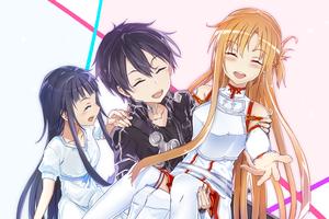 Cuối cùng mối quan hệ thực sự giữa Kirito, Asuna, Alice trong Sword Art Online có phải là mối tình tay ba?