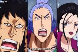 Dự đoán One Piece 987: Kaido hóa rồng tấn công Cửu Hồng Bao, Luffy đụng độ Who Who?