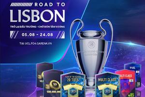FIFA Online 4 khuấy đảo không khí Champions League bằng siêu sự kiện miễn phí suốt tháng 8