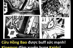 One Piece 987: Đả thương Kaido, liệu Cửu Hồng Bao có được buff sức mạnh quá đà?