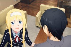 Sword Art Online Alicization tập cuối: Hé lộ hình ảnh Alice hớn hở đến gặp