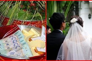 Bị nhà gái thách cưới đúng bằng số cân nặng cô dâu, chàng trai lên mạng than