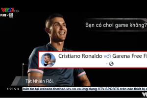 Ronaldo đích thân nói về Free Fire và dụ dỗ gần 150 triệu Fan trên Fanpage tích xanh quyền lực của mình