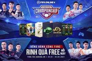 FIFA Online 4 ra mắt chuỗi sự kiện 4 trong 1 cực khủng đồng hành cùng FVNC 2021