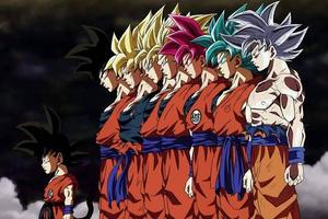 Từ cậu thiếu niên 16 tuổi khi mới bắt đầu series Dragon Ball, Goku giờ đã là ông nội