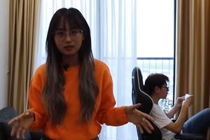 Minh Nghi quay vlog khoe nhà mới nhưng để lọt