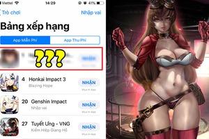 Không những hơn Genshin Impact đến... 20 bậc trên BXH App Store, tựa game này còn