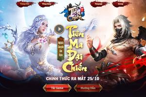 Siêu phẩm game nhập vai Tiên Chiến tung teaser ấn định ngày ra mắt 25/10