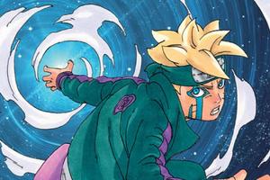 Boruto chap 63: Bị Code áp đảo, con trai Naruto sử dụng sức mạnh của Momoshiki hòng