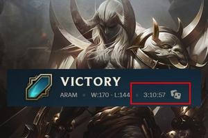 Kỷ lục mới về trận ARAM dài nhất lịch sử LMHT đã được xác lập với thời gian thi đấu là 3 tiếng 10 phút