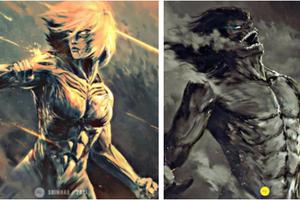 Ngắm loạt ảnh fanart nhân vật Attack on Titan theo phong cách kinh dị mà thấy rùng mình