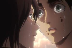 Spoil Attack On Titan chap 138: Đang lúc cao trào cuộc chiến, Mikasa bất ngờ hôn Eren