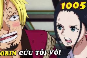 """Soi những chi tiết thú vị trong One Piece chap 1005: Sanji """"phế"""" hay chỉ là ý đồ bí mật của Oda? (P.1)"""