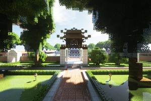 """Bái phục game thủ dùng """"cả thanh xuân"""" để tái dựng Việt Nam trong Minecraft"""