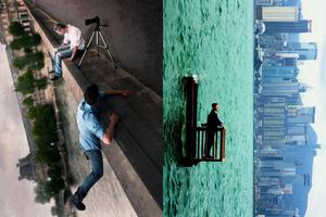 Những bức hình đánh lừa thị giác khiến người xem cảm thấy ảo vô cùng