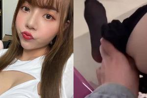 Nữ YouTuber khiến CĐM sốc nặng vì trực tiếp cởi quần tất ở nơi công cộng để bán cho khách hàng