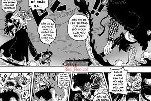 Fan One Piece phấn khích với bức ảnh Yamato biến hình, cùng Luffy đối đầu Kaido