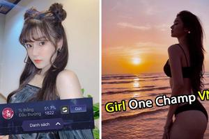 2000 trận chỉ chơi một tướng, girl 1 champ Hoàng Yến Chibi lột xác khoe