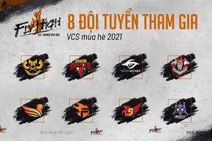 VCS Mùa Hè 2021 thay đổi thể thức, SBTC giữ nguyên top 5 cũng lọt vào Playoffs