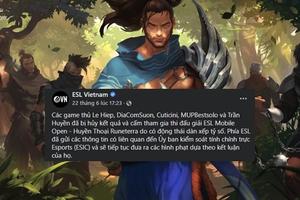 Huyền Thoại Runeterra: 5 bài thủ người Việt bị tổ chức ESL cấm thi đấu vì dàn xếp tỷ số