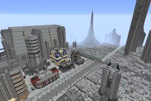 Nhóm game thủ công bố dự án tái tạo lại cả dải ngân hà Star Wars vào Minecraft