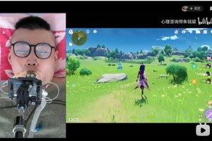 Liệt cả người nhưng vẫn đam mê, game thủ Genshin Impact điều khiển nhân vật bằng miệng, thừa nhận