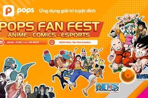 """Pew Pew, MC Minh Nghi, Hảo Thỏ sẽ """"tung hoành"""" cùng fan tại POPS Fan Fest"""