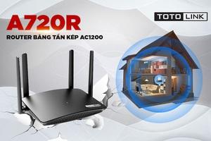 """Vì sao nói Router Wi-Fi """"xuyên tường"""" A720R là sản phẩm chuyên dụng cho gia đình?"""