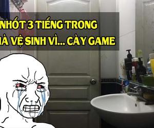 Mê game, chàng trai bị vợ nhốt 3 tiếng đồng hồ trong… nhà vệ sinh, phải lên group kêu cứu