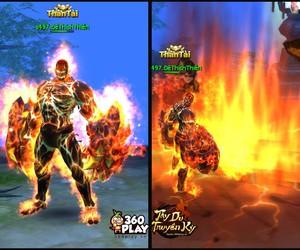 """Game thủ rủ nhau """"bùng cháy"""" trong game Tây Du Truyền Kỳ"""