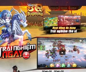 3Q Truyền Kỳ tung landing siêu ngộ nghĩnh, sẵn sàng ra mắt game thủ Việt