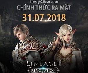 Lineage 2 Revolution ra mắt