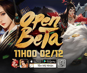 Tần Mỹ Nhân chính thức Open Beta, tặng game thủ quà siêu Vip