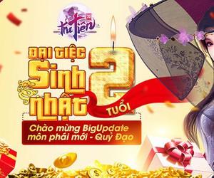"""Đại tiệc sinh nhật Tru Tiên 3D Mobile 2 tuổi, game thủ """"mỏi tay"""" nhận quà siêu trị giá 222 triệu"""