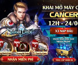 Thánh Chiến 3D: MMORPG thần thoại phương Tây mở server mới Cancer, tặng Gift Code cực giá trị