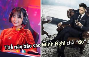 Được MC Minh Nghi 'bật đèn xanh', fan Bomman đua nhau ghép ảnh thần tượng mặc vest lấy điểm với cô nàng